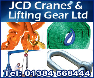 JCD Cranes & Lifting Gear Ltd