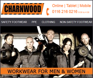 Charnwood Safety Footwear and Workwear Ltd