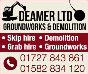 A Deamer Ltd Ground Works & Demolition/Grab Hire/Skip Hire