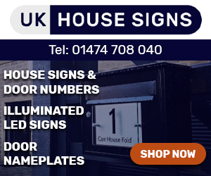 Acrylic Master House Signs
