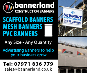Bannerland Scaffold and Mesh Banners