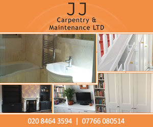 JJ Carpentry & Maintenance Ltd (bespoke joinery Bromley)