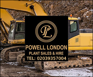 Powell London Plant Sales and Hire