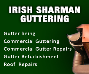 Irish Sharman Guttering