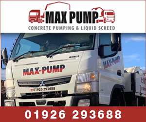 MAX PUMP concrete pumping and liquid screed