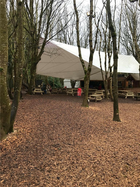 Custom PVC Canopy for Castlecomer Discovery Park  Gallery Image
