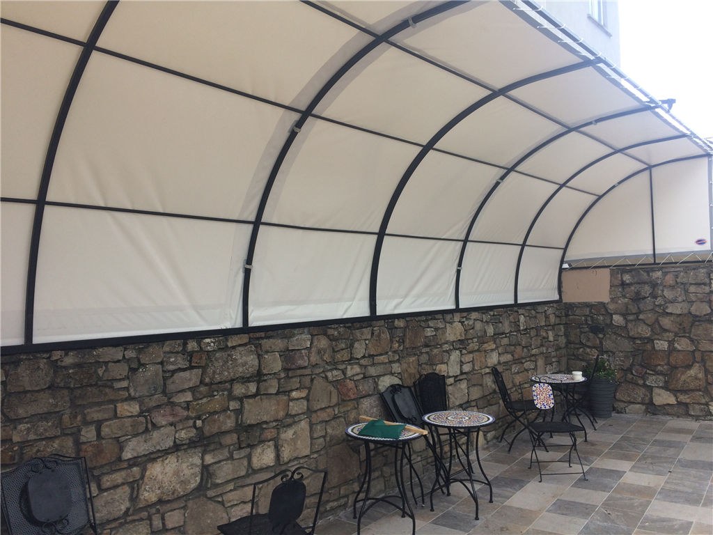 Canopy for Pub Smoking Area Gallery Image