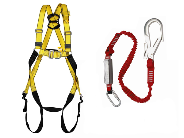 Full body harness & lanyard Gallery Image