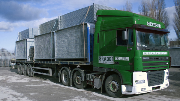 Full load of fencing & feet ready to be delivered Gallery Image