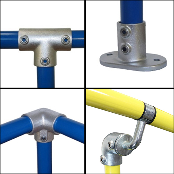 Full range of Pipeclamps & DDA fittings carried Gallery Image