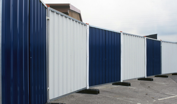 Hoarding panels, available galvanised or painted Gallery Image