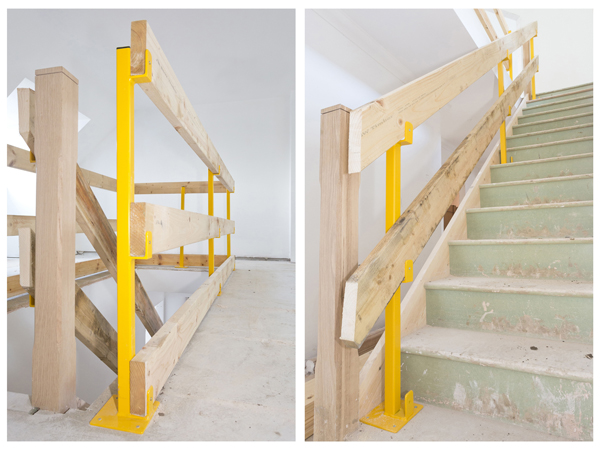 Stairs & landing safety post Gallery Image