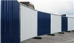 Hoarding panels, available galvanised or painted Gallery Thumbnail