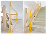 Stairs & landing safety post Gallery Thumbnail