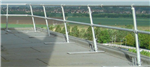 SG4 roof edge free standing guardrail system Gallery Thumbnail