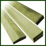 Battens, Laths and Capping Rails Gallery Image