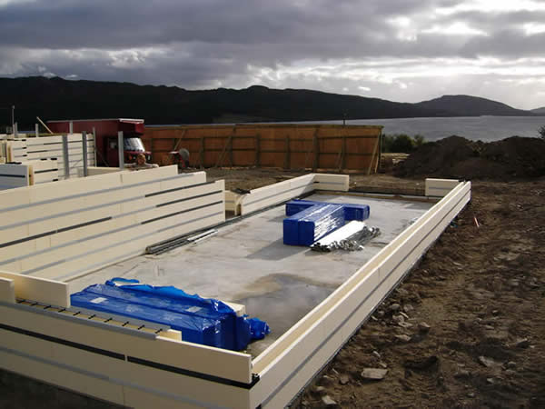 Polarwall Is The Only Icf That Has No Dimensional Modularity So The Formwork Fits To The