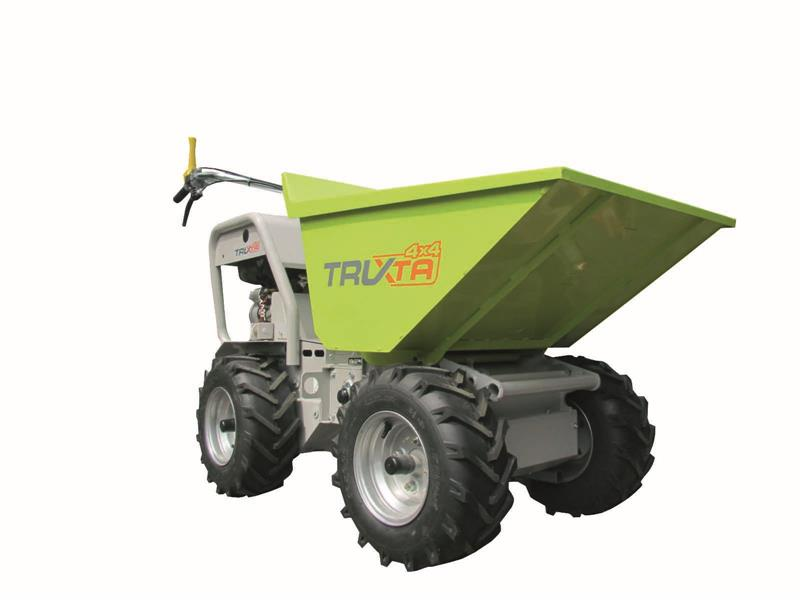 Truxta 4 x 4 Mini Dumpers for Hire/Sale