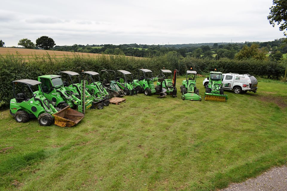 Choice of loaders and attachments Gallery Image