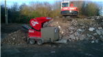 Trailer mounted Red Rhino 3000 on site Gallery Thumbnail