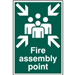 Fire Assembly Point 1541 £7.99 Gallery Thumbnail