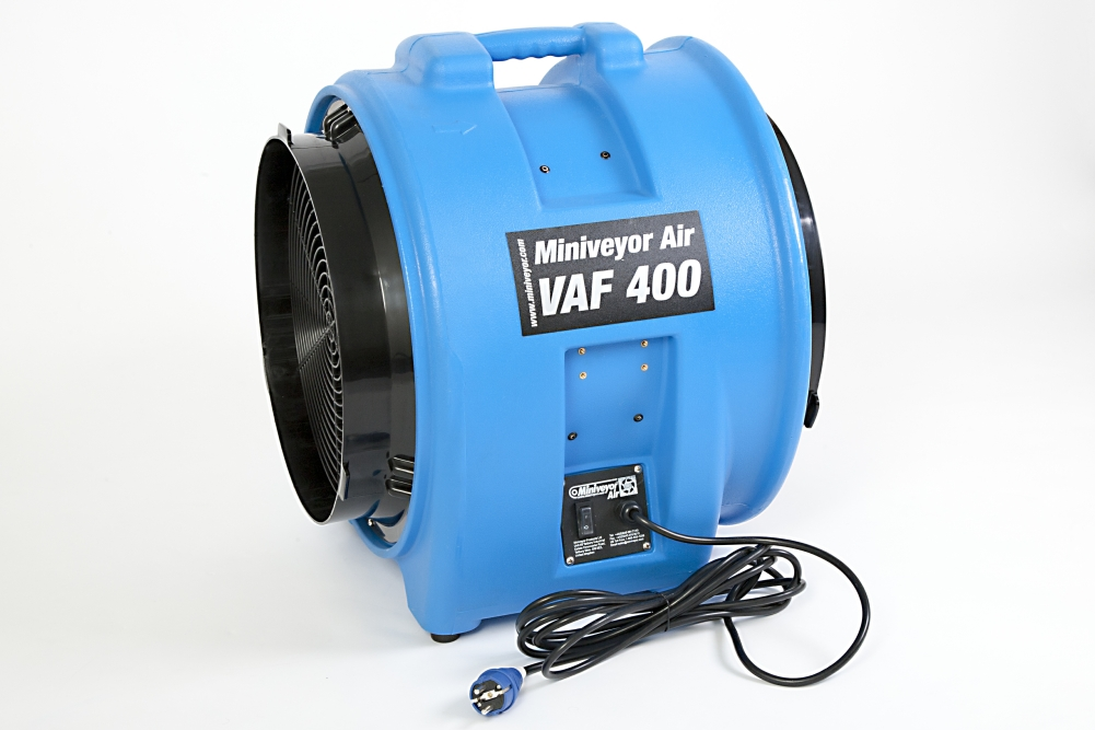 Construction Fans And Blowers : Miniveyor products other construction