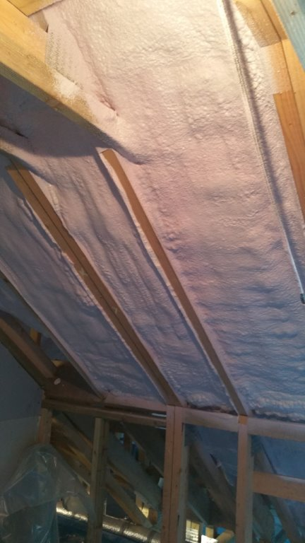 Loft/under slate insulation Gallery Image