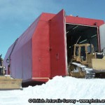 This is a mobile workshop used by the British antartic survey team and has been insulated with both Spray foam and injected foam by MPI. Gallery Image