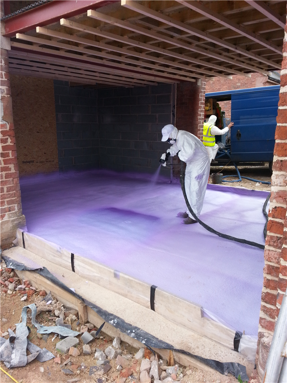 The Spray Insulation System Is A Series Of Soft Flexible