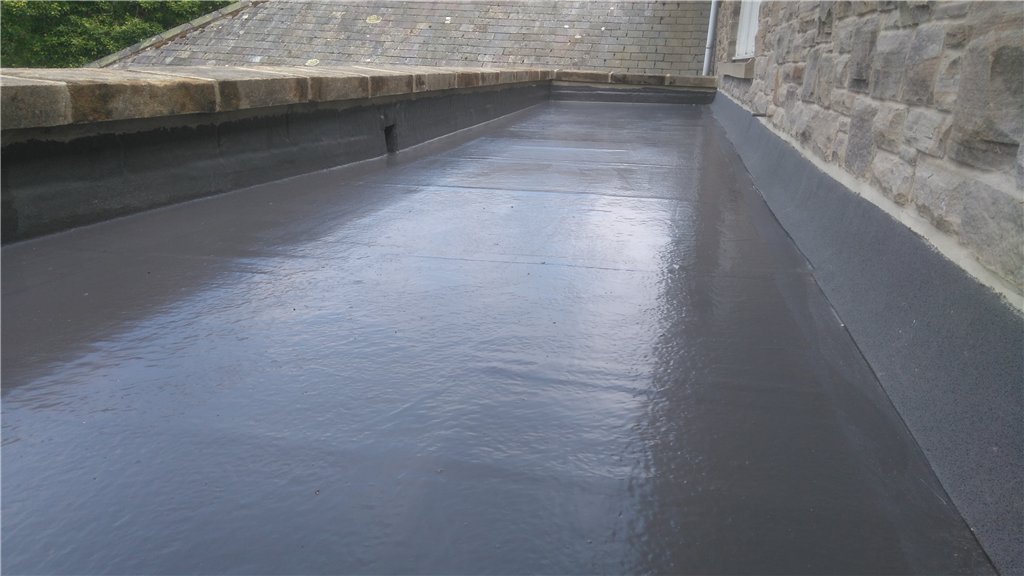 Topseal GRP system on rear extension. Gallery Image