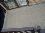 Roof terrace area, with Kemperol V210 waterproofing, and non-slip, quartz sand, finish. Gallery Thumbnail