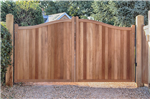 Handamde hardwood gates automated in hampshire Gallery Thumbnail