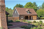 4 bay oak framed barn building at country home in Hampshire Gallery Thumbnail