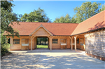 Oak framed stable block building complex in Hampshire. Gallery Thumbnail