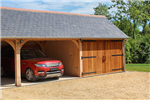 Three car timber framed garage. Gallery Thumbnail
