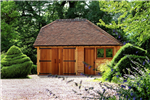 Traditional oak framed garden building. Gallery Thumbnail