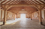 A glimpse inside our award winning oak framed barn buildings. Gallery Thumbnail