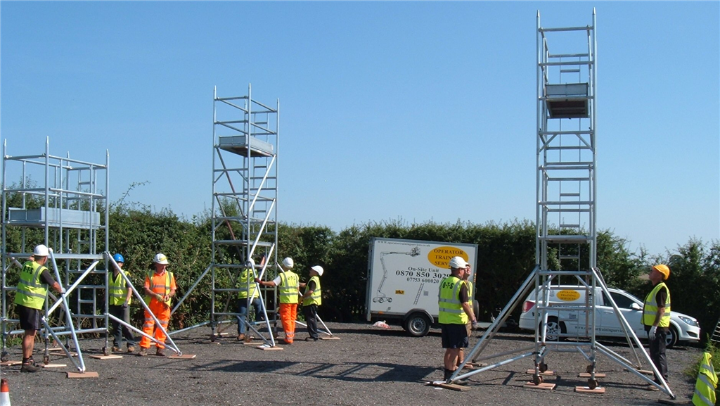 PASMA Standard Tower training. Gallery Image