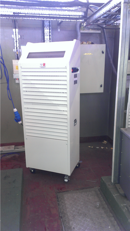 CAS-Hire introduces our PWCSA50 heavy duty 15kw single phase 230v 32amp water cooled portable split air conditioner. Hire for £495.00 per week ex carriage &  vat.View on our website for details
