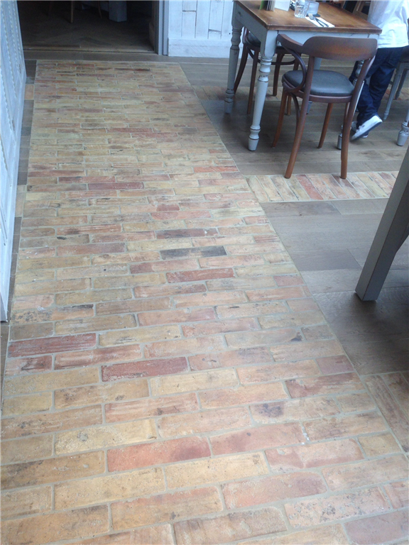 KY4 - Pale Reclaimed Terracotta Tiles 20 x 75 x 300 mm Gallery Image