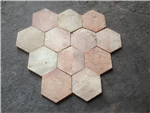 KY2 - Reclaimed Pale Hexagonal Terracotta Tiles - 20 x 150 mm Gallery Thumbnail
