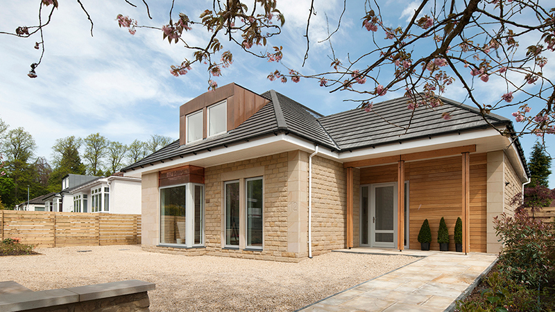 A private dwelling built using Cumbrian Stone's Longridge sandstone Gallery Image