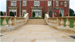Sandstone paving and balustrade to a private property Gallery Thumbnail