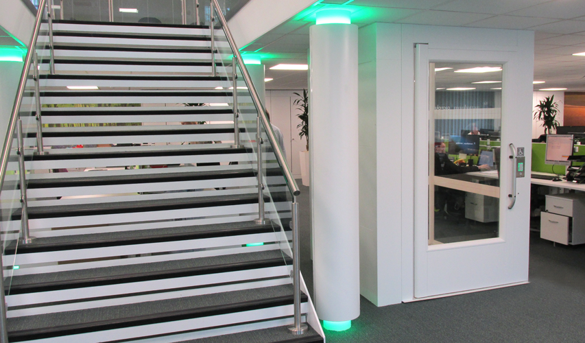 Platform Lift in Office Environment Gallery Image