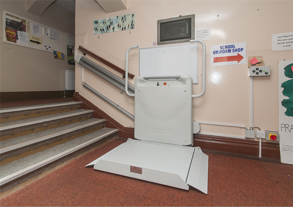 Inclined Stair Lift Gallery Image