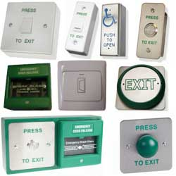 CDVI Access Control Exit Switches Gallery Image
