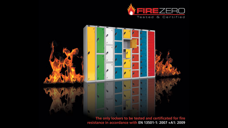 Lockers with a fire certificate Gallery Image