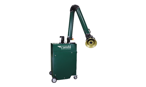 The Zephyr Unit is a mobile Dust extractor. the adjustable are and wheels make it for convenient use for welding appliances Gallery Image