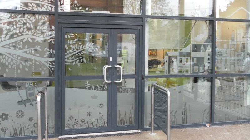 window graphics and manifestation graphic design Gallery Image