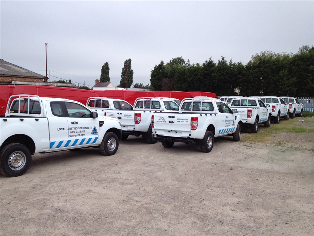 Fleet Van vehicle livery graphics sign writing Gallery Image
